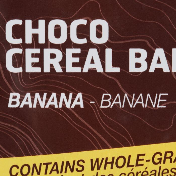 Barre de céréales enrobée ECOSIZE chocolat banane 10x32g - 859076
