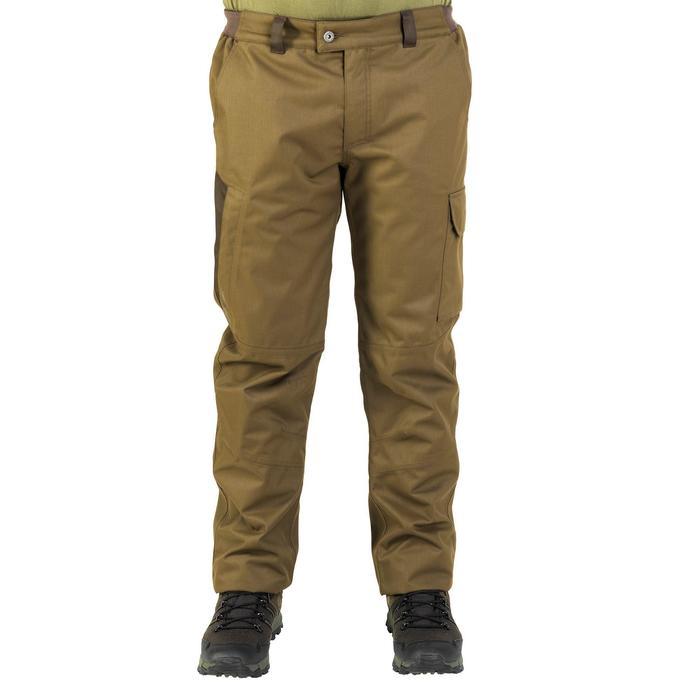 Pantalon chasse imperméable chaud 500 - 859225