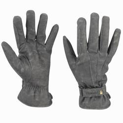 Warme rijhandschoenen Wago Suprema voor volwassenen grijs