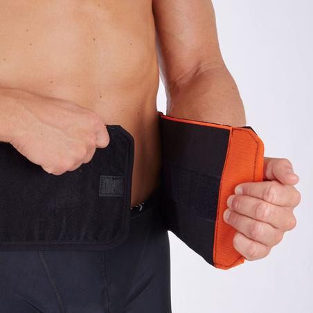 Soft 300 Supportive Lumbar Brace Black