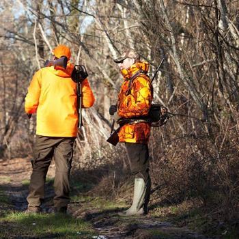 Veste chasse Sibir 300 CAMOFLUO - 860010
