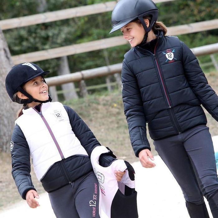 Veste équitation enfant SAFY noir - 860582