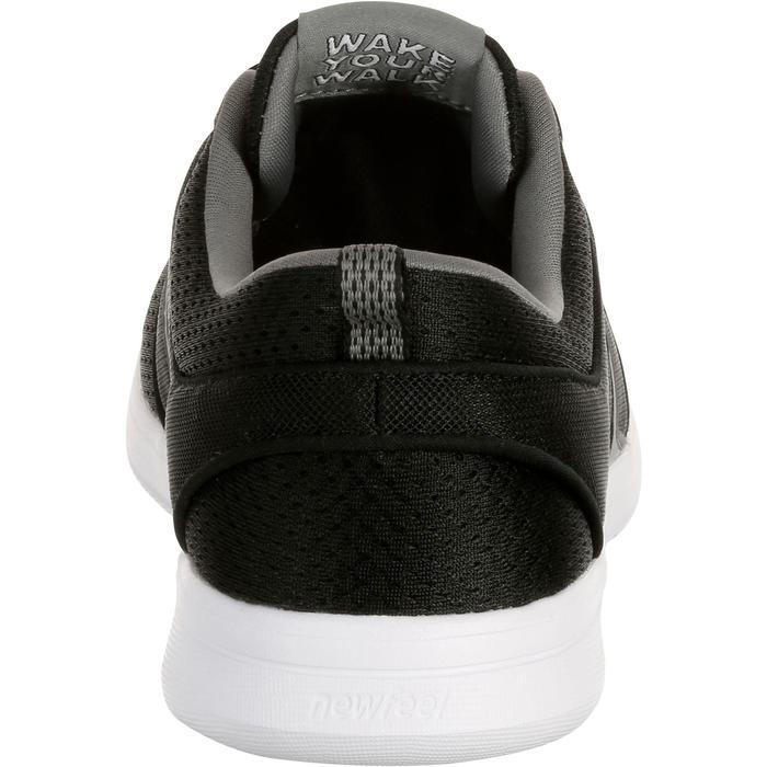 Zapatillas Caminar Newfeel Soft 140 Mujer Negro/Gris