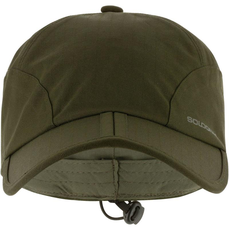 Folding waterproof hunting hat - green  2689f83ef05