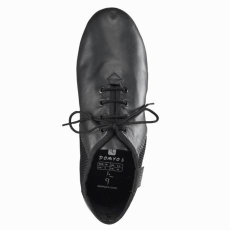 chaussure danse moderne jazz low mesh noir domyos by decathlon