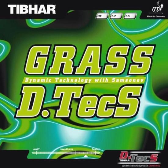 Rubber voor tafeltennisbatje Tibhar Grass D. Tecs - 861960