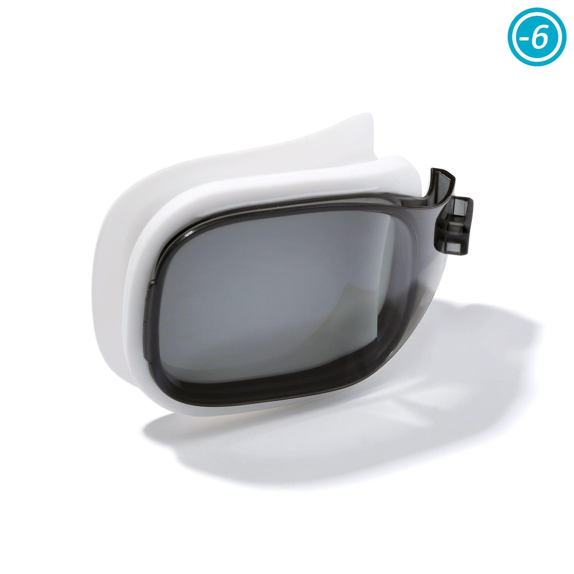 Nabaiji Correctieglas (1x) voor zwembril Selfit maat S getint glas