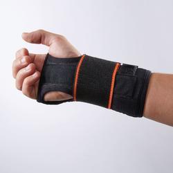 Handgelenkbandage Strong 700 links/rechts Erwachsene schwarz
