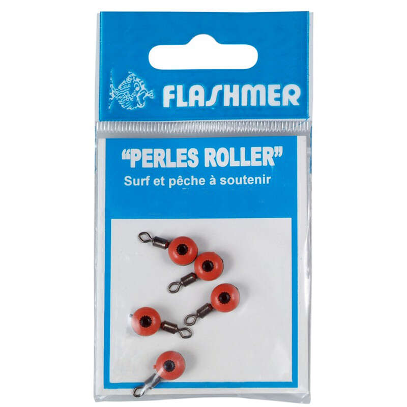 SURFCASTING RIGGING ACCESSORIES - ROLLING BEADS 5MM X5 FLASHMER