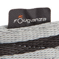 Soft Horse and Pony Curb Strap - Black and Grey