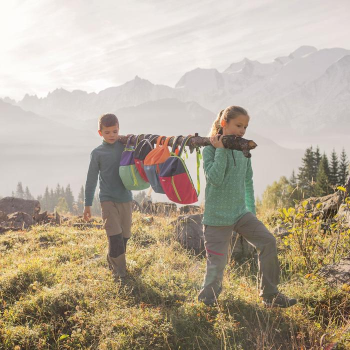 Hike 100 Girls' Hiking Fleece - Pink