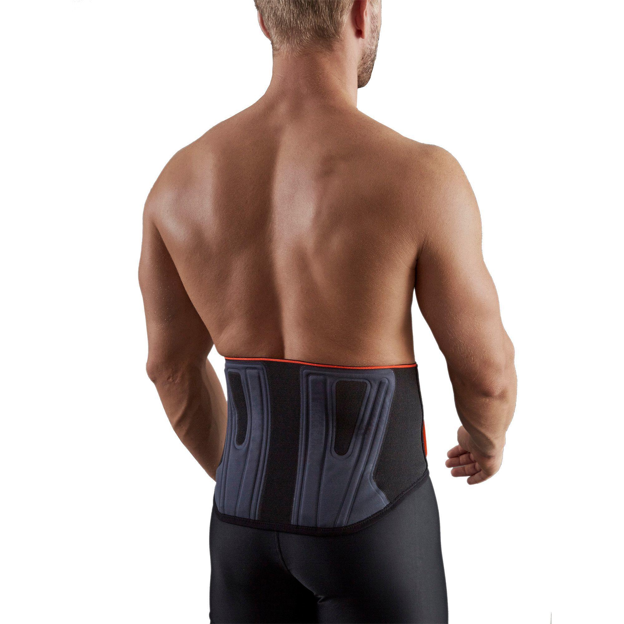 Soft 300 Men's/Women's Supportive Lumbar Brace - Black