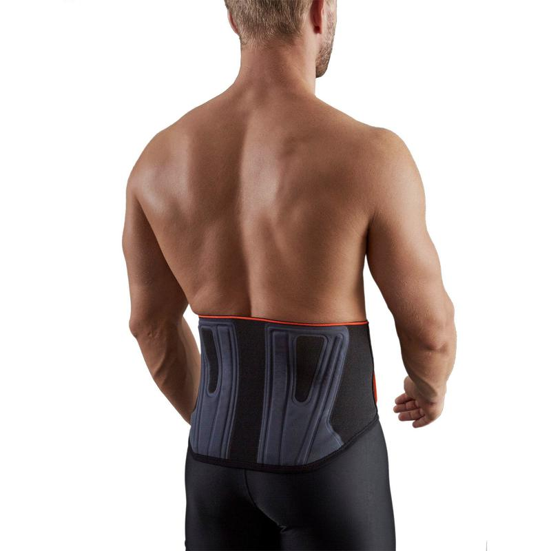 Soft 300 Men's/Women's Supportive Lumbar Brace - Black
