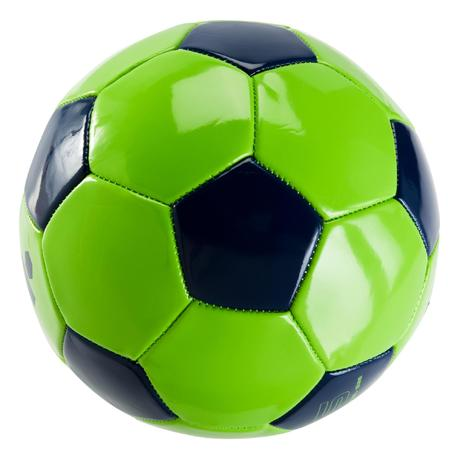 ballon de football first kick taille 5 14ans vert bleu kipsta by decathlon. Black Bedroom Furniture Sets. Home Design Ideas