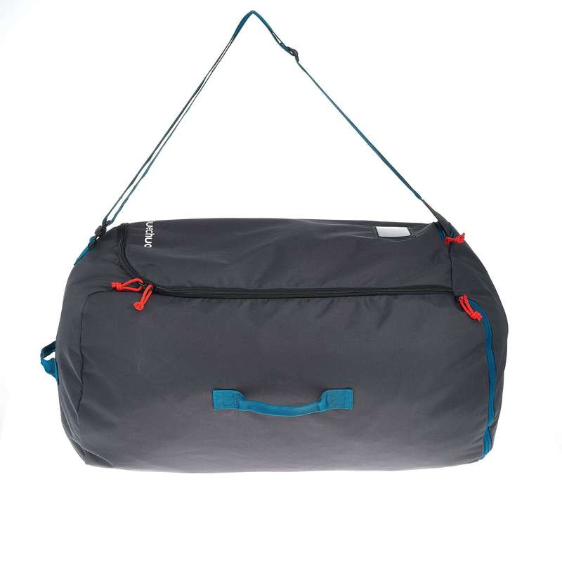 COMPACT BACKPACKS TRAVEL ACC TRAVEL TREK Trekking - Protective Cover for 40 - 90L Backpacks - Blue FORCLAZ - Trekking