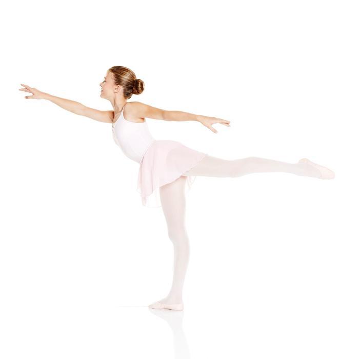 Balletrokje Lucia voor meisjes lichtroze