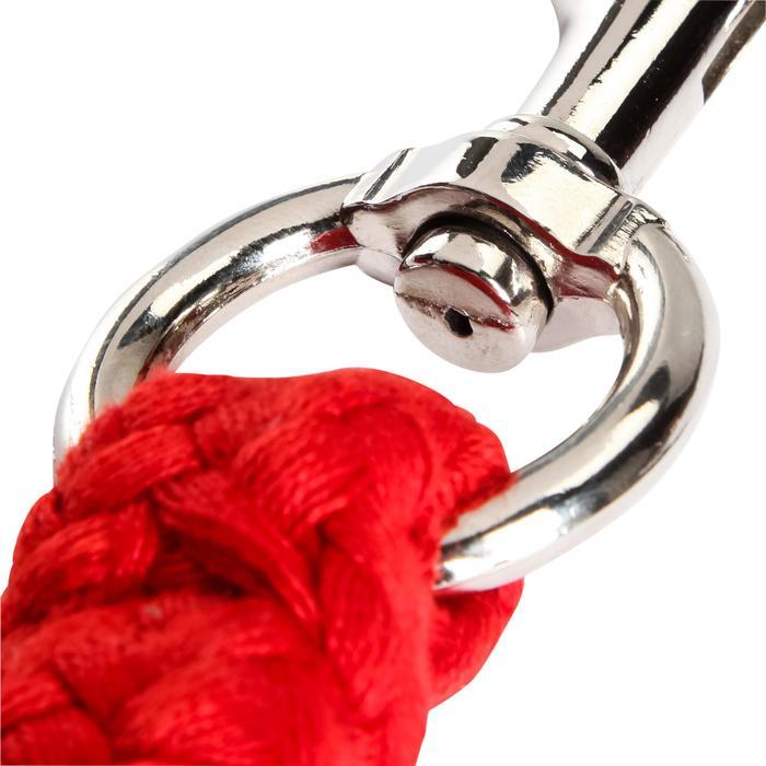 成馬及小馬用2 m牽繩Tack-紅色