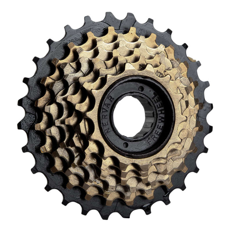 BIKE GEARING Cycling - 14x28 7 Speed Freewheel Bike Cassette BTWIN - Cycling