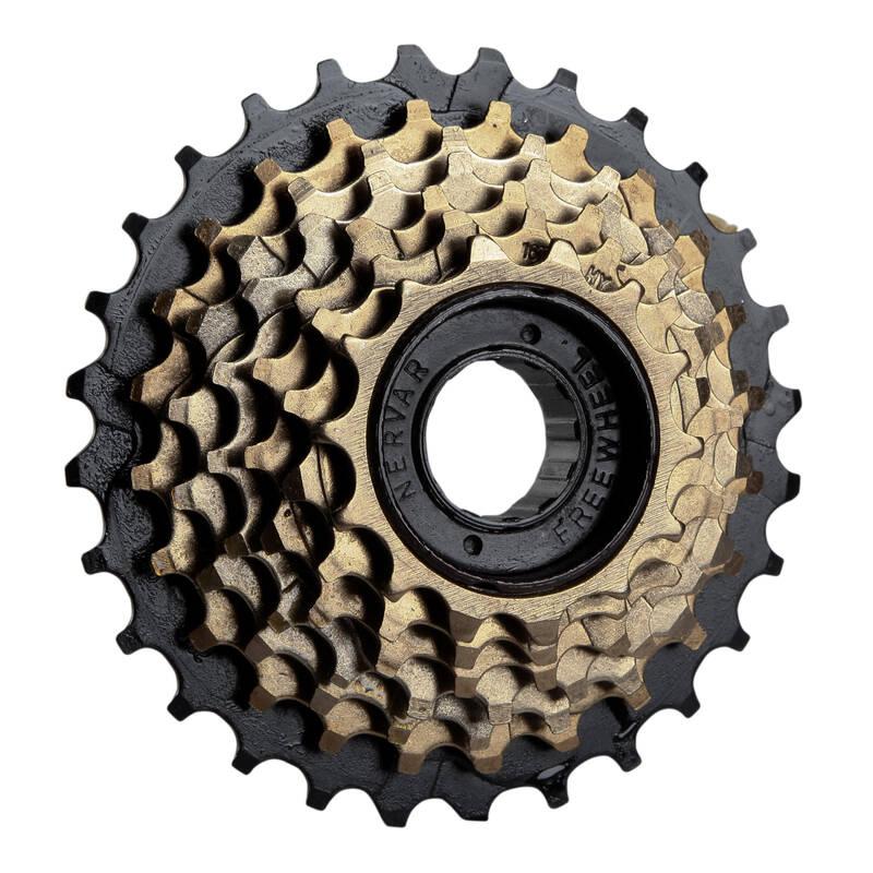 PŘEVODY NA KOLO Cyklistika - ŠROUBOVACÍ VOLNOBĚŽKA 7R 14×28 BTWIN - Náhradní díly a údržba kola
