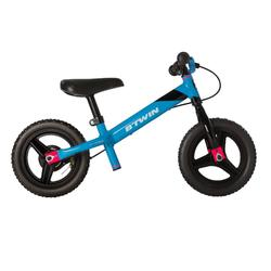 Loopfietsje 10 inch Run Ride MTB blauw