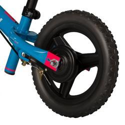 Loopfietsje 10 inch Run Ride MTB blauw - 867657