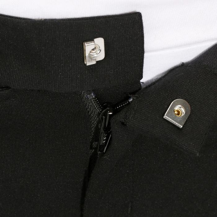 Pantalon équitation enfant FULLSEAT noir et - 867675