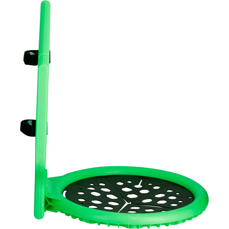 The Hoop Kids'/Adult Basketball Basket - Green.Can be taken and put up anywhere!