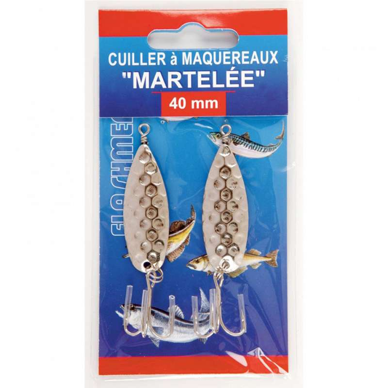 SW SPOONS, CASTING JIGS UP TO 60GR Fishing - Hammered Mackerel Spoon Lure NO BRAND - Sea Fishing