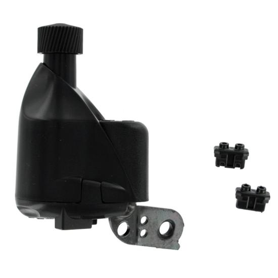 Dynamo met clip voor fietswiel zwart - 869666