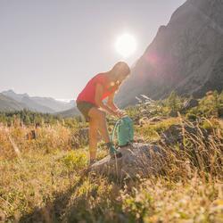 T-shirt korte mouwen trekking dames Arpenaz 100 - 870479