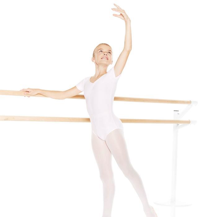 Justaucorps de danse classique manches courtes noir fille - 870504