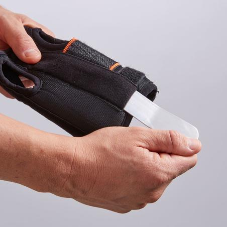 Maintien poignet gauche/droite Renforcé 700 noir - Hommes/Femmes