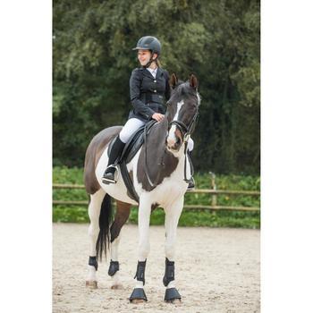 Pantalón Concurso equitación niños 500 blanco