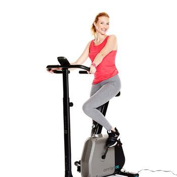 Damestop voor gym en pilates felroze