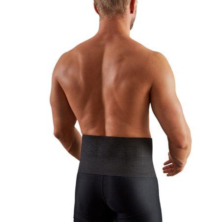 Soft 100 Supportive Lumbar Brace Black - Men's/Women's