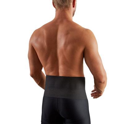 Soft 100 Men's/Women's Supportive Lumbar Brace - Black