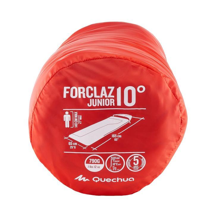 Slaapzak voor kinderen Forclaz 10 °C kinderen rood