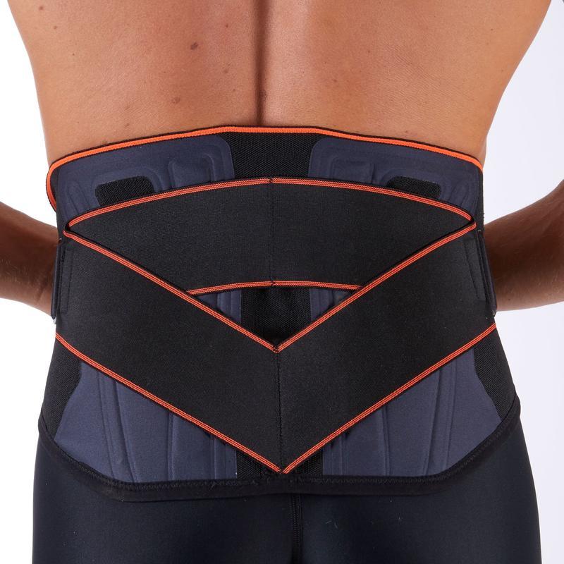 Mid 500 Men's/Women's Supportive Lumbar Brace - Black
