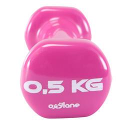 Gym halters pvc 2 x 0,5 kg - 875969