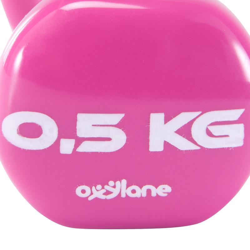 Pilates Toning Dumbbells Twin-Pack 0.5 kg
