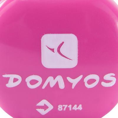 العبوة المزدوجة من دمبل كلوريد البولي فينيل 0.5 كيلو جرام DOMYOS