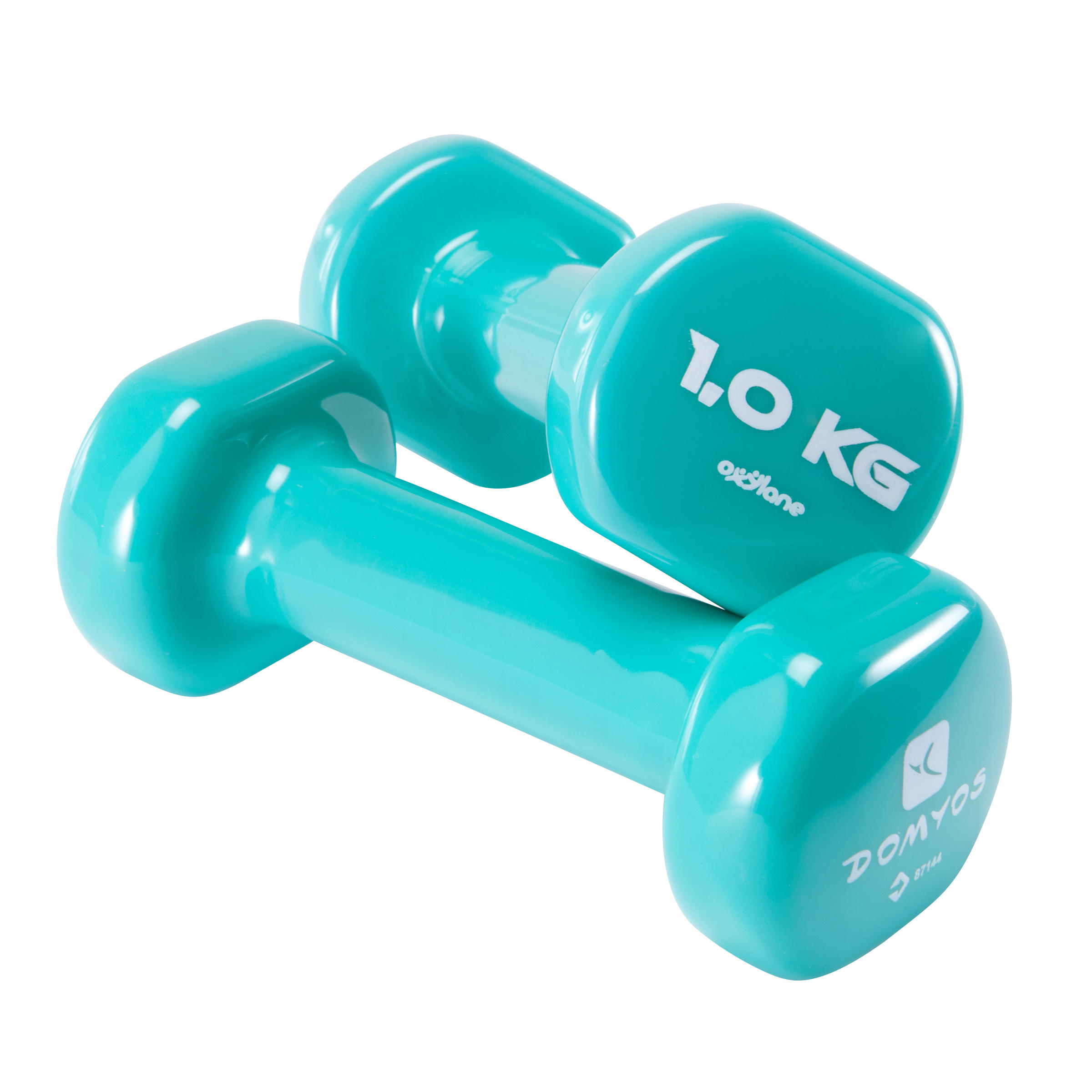 PVC Dumbbells Twin-Pack 1 kg