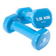 PVC Dumbbells Twin-Pack 1.5 kg