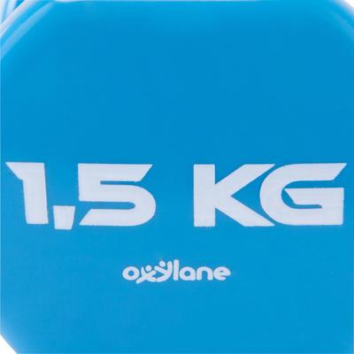 MANCUERNA PVC 2 x 1,5 kg