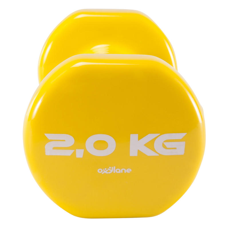 Bučice za pilates i toniranje (2 komada po 2 kg)