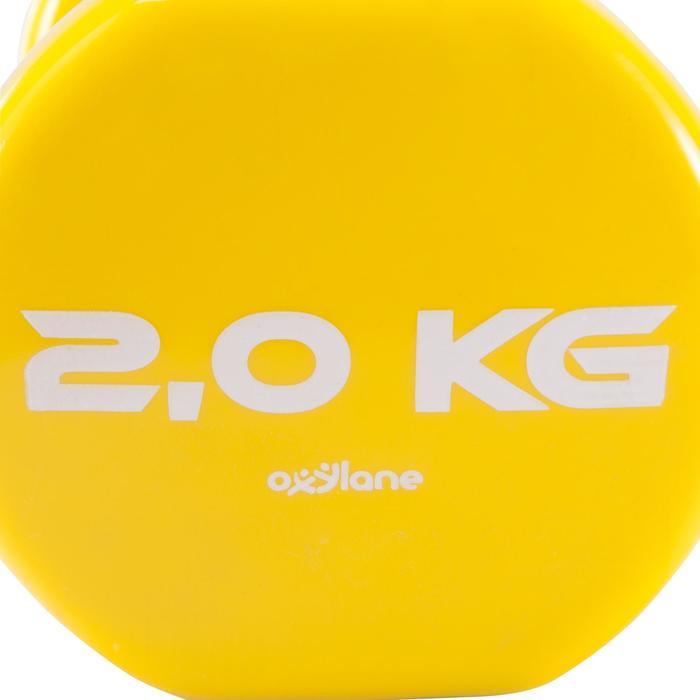 Pilates Toning Dumbbells Twin-Pack 2 kg