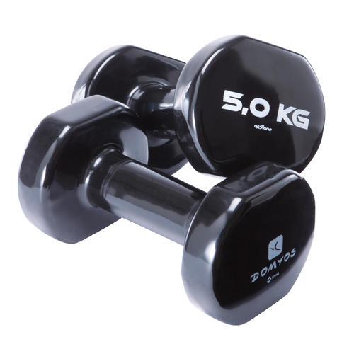 Haltères fitness tonedumbell 2*5 kgs
