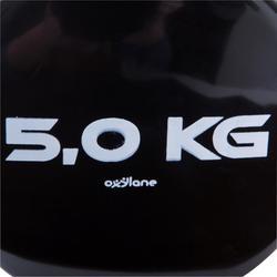 Halters pilates figuurtraining 2 x 5 kg