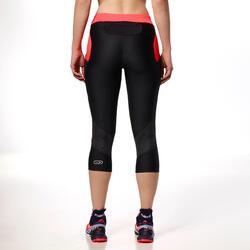 Damesbroek voor trail dames zwart/roze - 87602