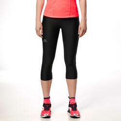 Damesbroek voor trail dames zwart/roze - 87603